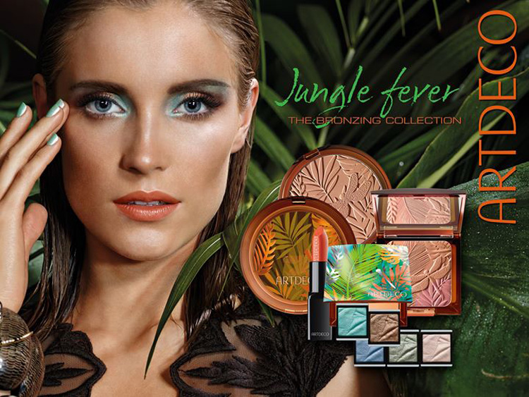 ArtDeco Jungle Fever Makeup Collection for Summer 2014 promo