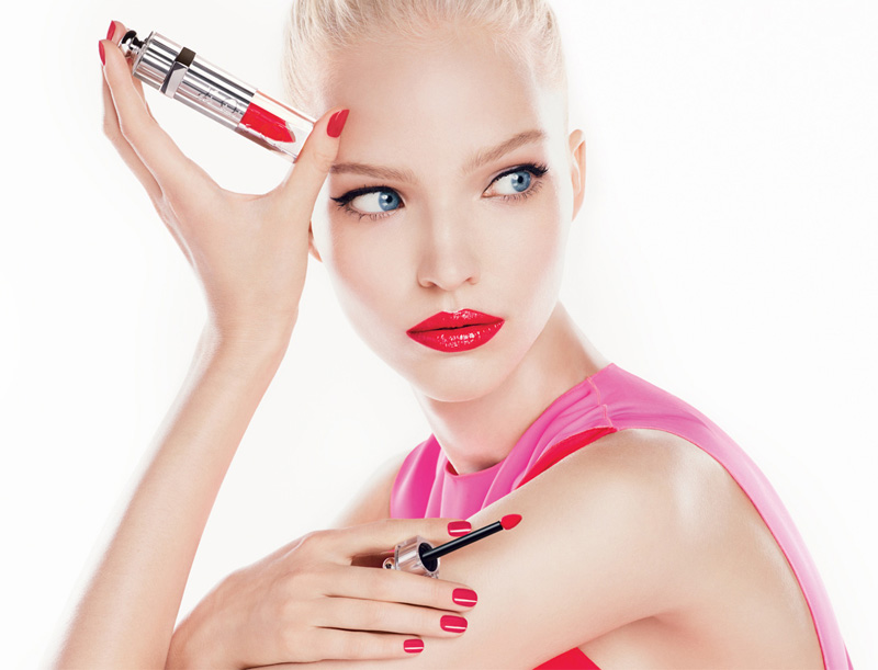 Dior Fluid Stick with Sasha Luss