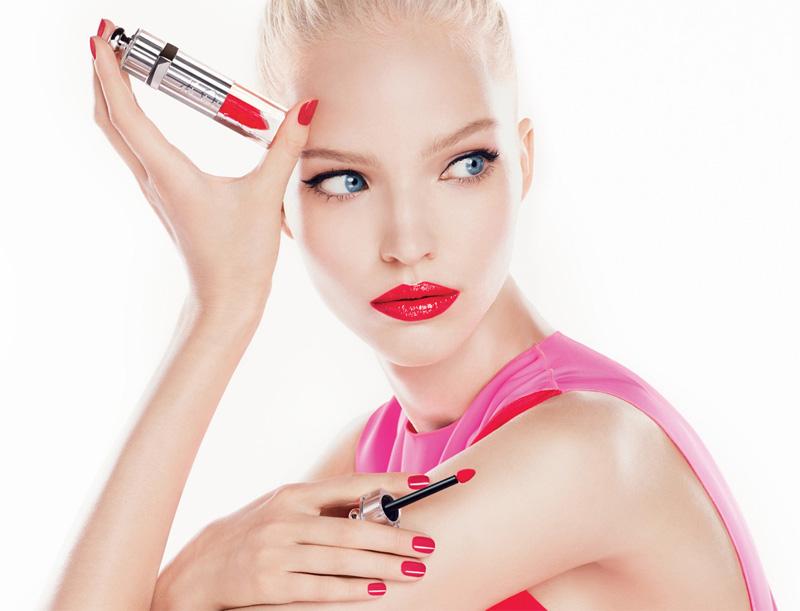Dior Fluid Stick with Sasha Luss