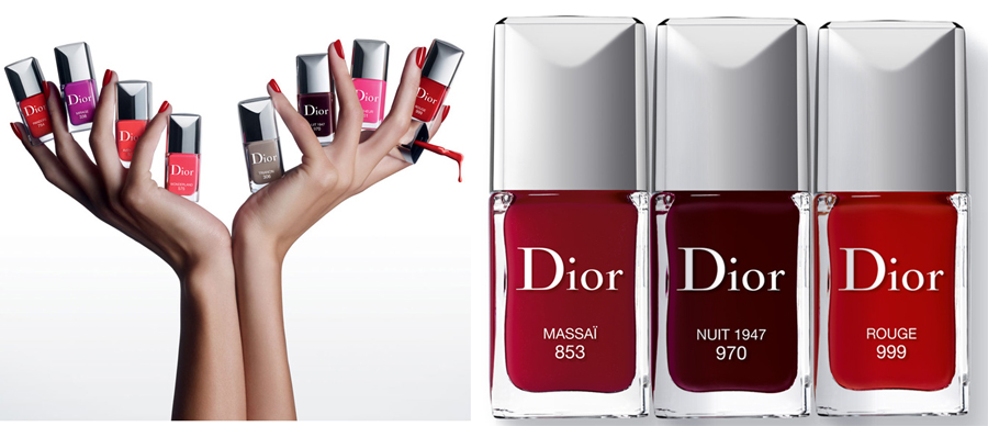 Dior Nail Lacquers new shades summer 2014