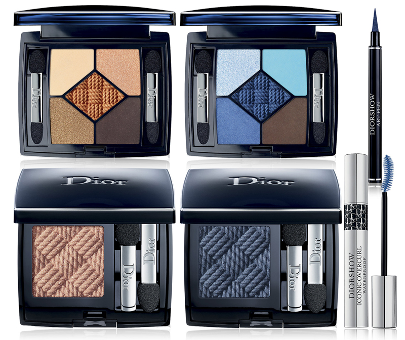 Dior Transatlantique Makeup Collection for Summer 2014 eye products