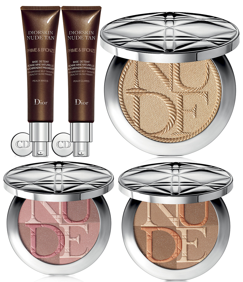 Dior Transatlantique Makeup Collection for Summer 2014 face products