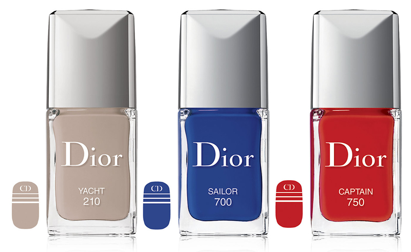 Dior Transatlantique Makeup Collection for Summer 2014 nail products