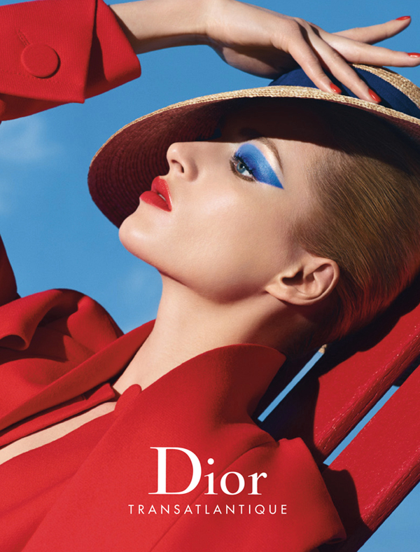 Dior Transatlantique Makeup Collection for Summer 2014 promo with Daria Strokous