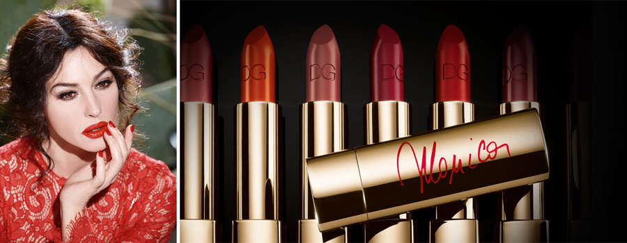 Dolce&Gabbana Classic Cream Lipstick with Monica Bellucci