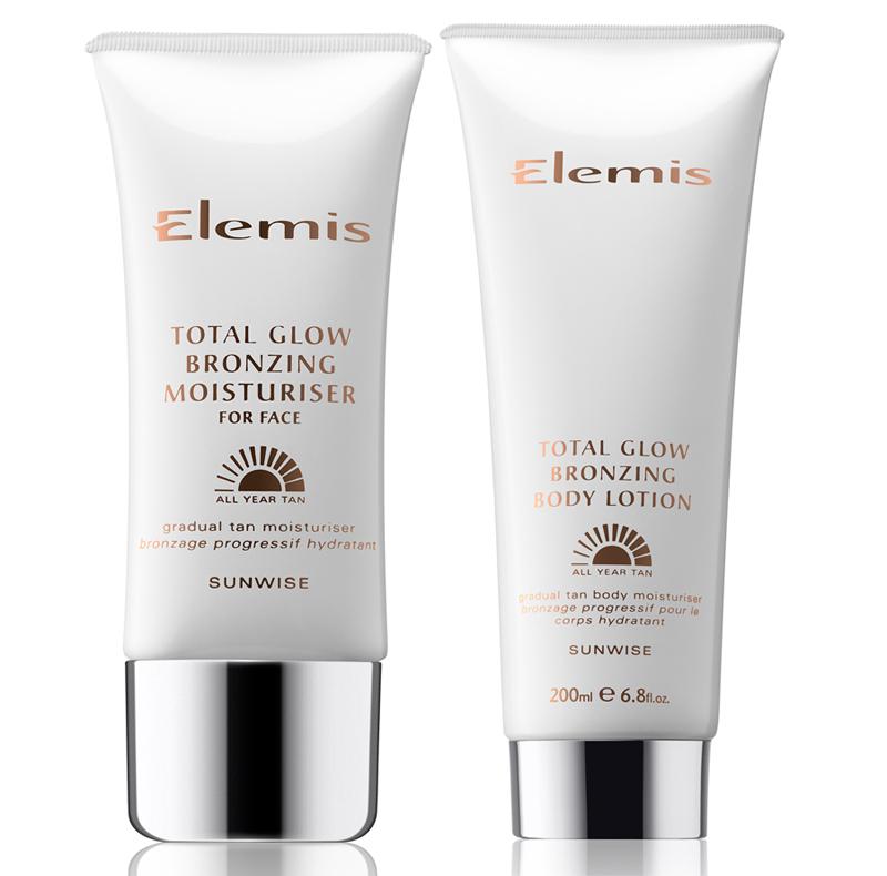Elemis Total Glow Bronzing Moisturiser and Total Glow Bronzing Body Lotion psummer 2014