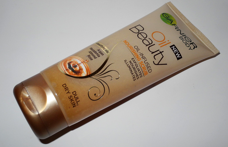Garnier Oil Beauty Oil-Infused Nourishing Scrub Review