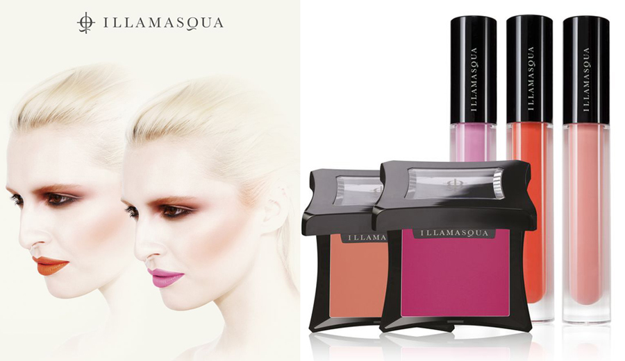 Illamasqua Makeup Collection for Summer 2014 promo and products