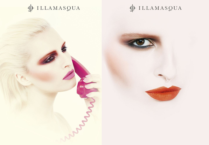 Illamasqua Makeup Collection for Summer 2014 promo images