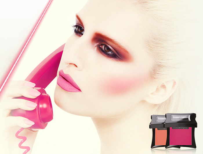 Illamasqua Makeup Collection for Summer 2014 velvet blusher