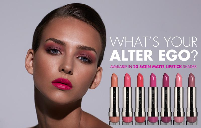 LORAC Alter EGo lipsticks promo summer 2014