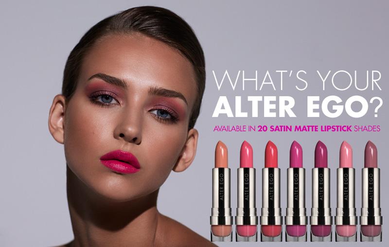 LORAC Alter EGo lipsticks promo summer 2014