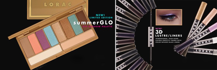 Lorac Makeup Collection for Summer 2014 palette and eye liners