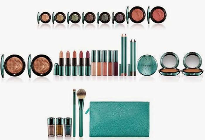 MAC Alluring Aqua Makeup Collection for Summer 2014 products