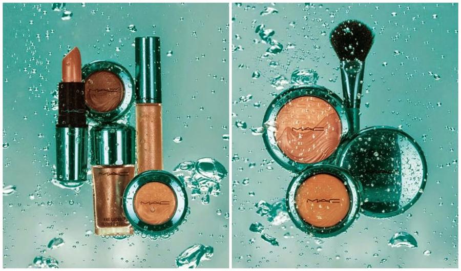 MAC Alluring Aqua Makeup Collection for Summer 2014 promo
