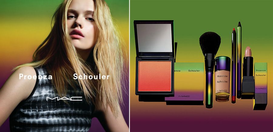 MAC and Proenza Schouler Makeup Collection for Summer 2014 promo