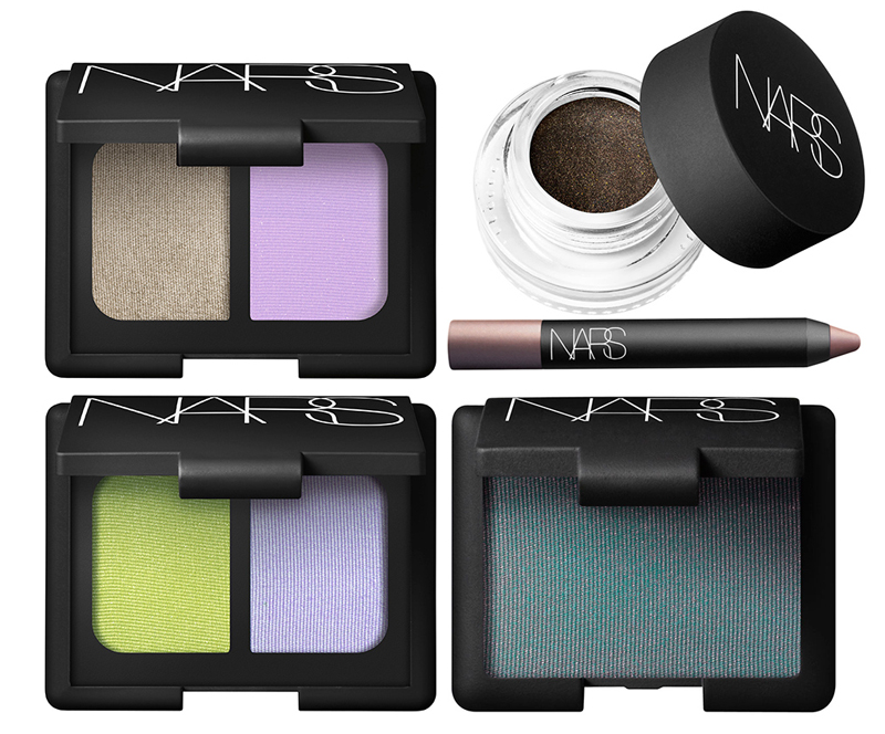 NARS Adult Swim Makeup Collection for Summer 2014 eye products