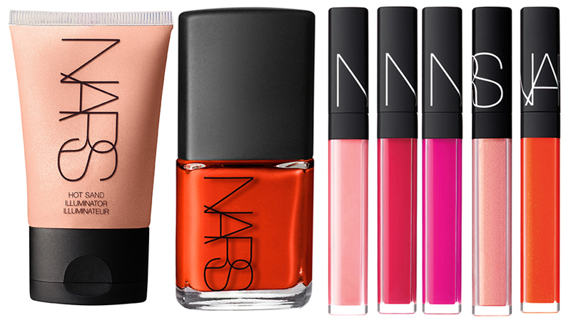 NARS Adult Swim Makeup Collection for Summer 2014 face and lip products