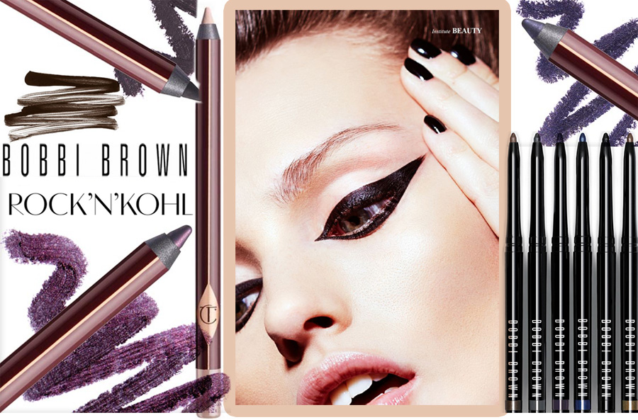 New Generation of Eye Liners Charlotte Tilbury and Bobbi Brown