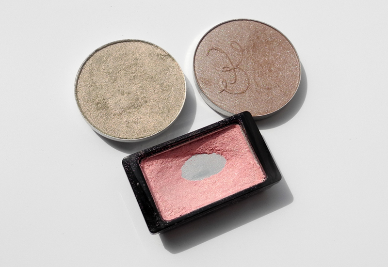 Pink and Mauve Eye Shadows MAC ArtDEco Rouge Bunny Rouge