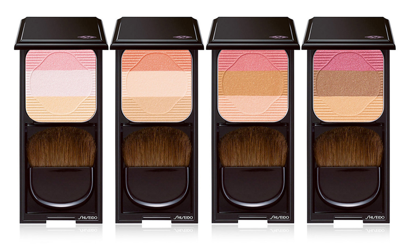 Shiseido Face Color Enhancing Trio all shades summer 2014