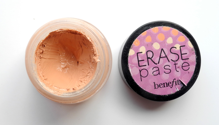 Benefit Erase Paste Concealer Review and Swatches
