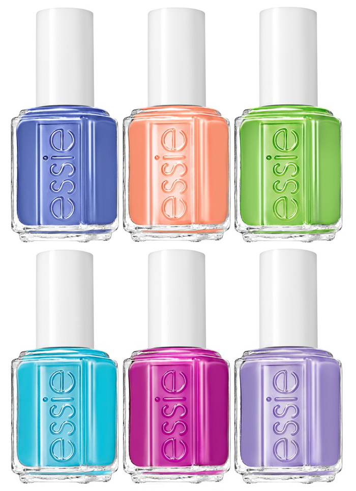 Essie  Neon nail plish  collection for summer 2014