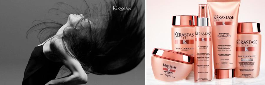 Kerastase Discipline hair care range products and promo