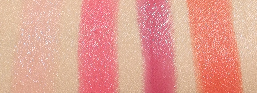 My Current Favourite Lipsticks Dior Givenchy Inglot Bourjois swatches
