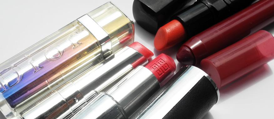 My Current Favourite Lipsticks Dior Givenchy Inglot Bourjois
