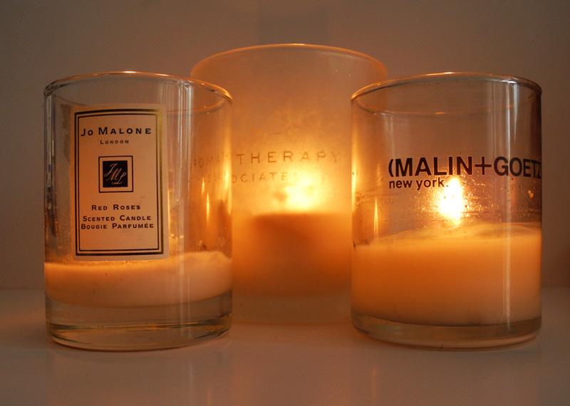 My Top 3 Favourite Candles Jo Malone Malin and Goetz Aromatherapy Associates