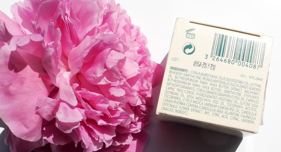 NUXE Reve de Miel Baume Levres Ultra-Nourrissant Ultra-Nourishing Lip Balm ingredients
