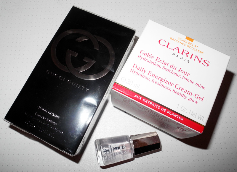 New Beauty Purchases Gucci, Clarins, NUXE, Garnier, Mavala makeup4al