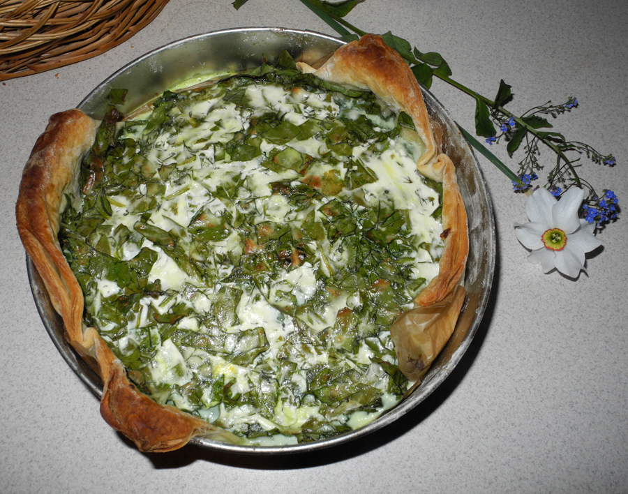 pie with spinach and cottage cheese recipe makeup4all