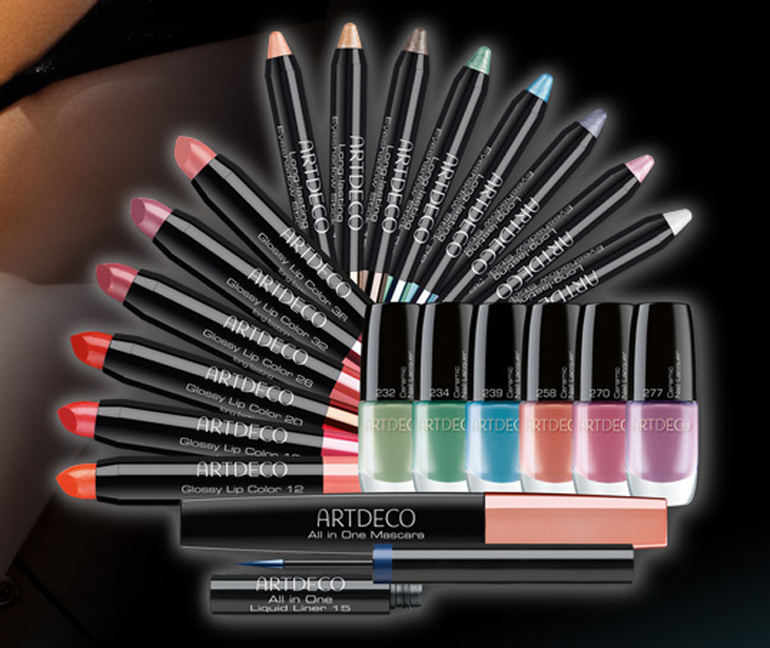 ArtDeco Miami Makeup Collection for Summer 2014 products