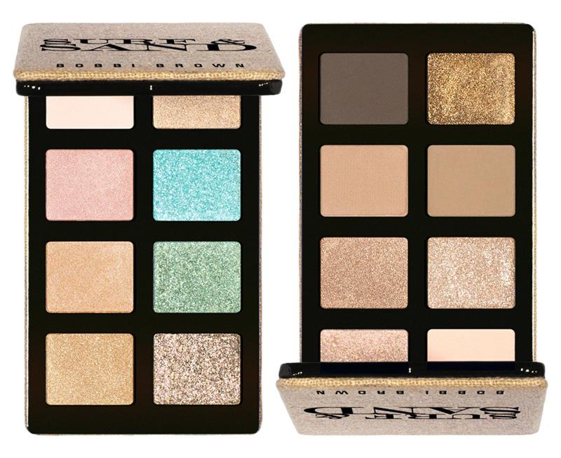 Bobbi Brown Suft & Sand Makeup Collection for Summer 2014 eye palattes