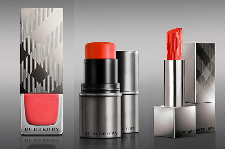 Burberry Summer Showers Makeup Collection for Summer 2014 orange poppy