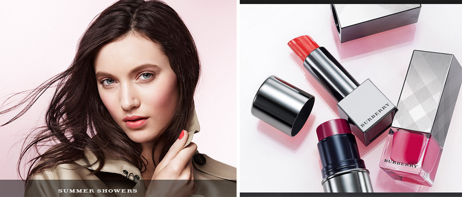 Burberry Summer Showers Makeup Collection for Summer 2014 promo 1