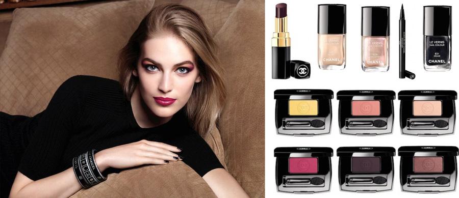 Chanel États Poétiques makeup collection for fall 2014