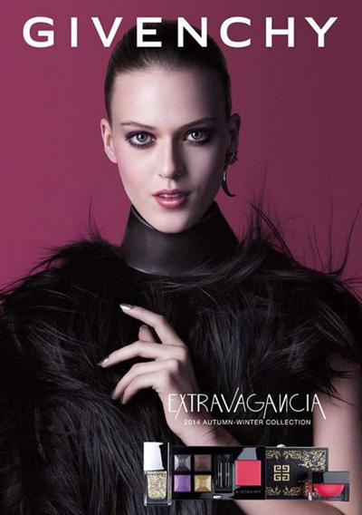 Givenchy Extravaganzia Makeup Collection for Autumn 2014 promo