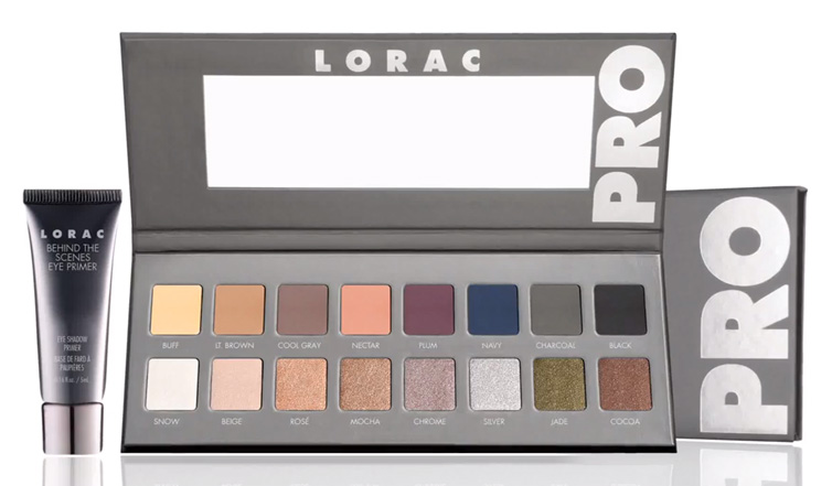 LORAC Pro Palette 2 for Fall 2014 promo