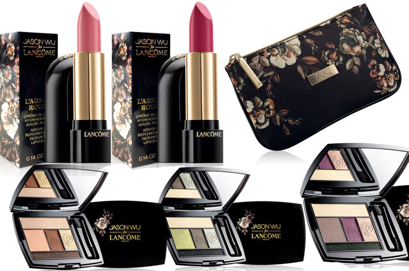 Lancome Makeup Collection for Fall 2014 lips and eye shadows
