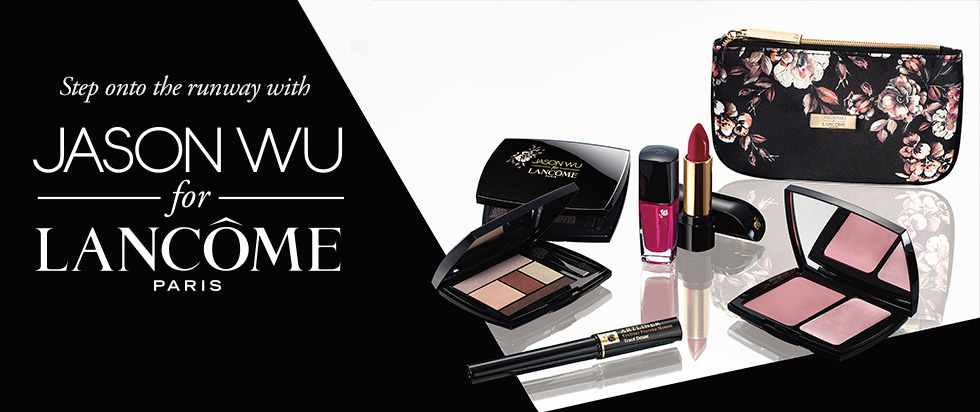 Lancome Makeup Collection for Fall 2014 promo