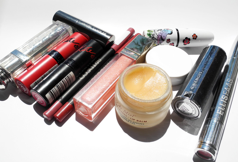 Lip Products Addict Tag dior rimmel artdeco givenchy clarins ellis faas NUXE