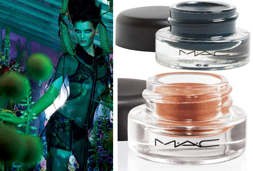 MAC Moody Blooms Makeup Collection for Autumn 2014 promo