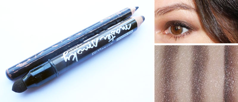 Maybelline Master Smoky Shadow Pencil in Smoky Chocolate Review and Swatches 1