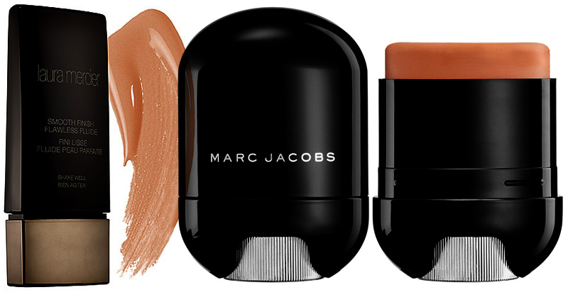 New foundations Marc jacobs and Laure mercier