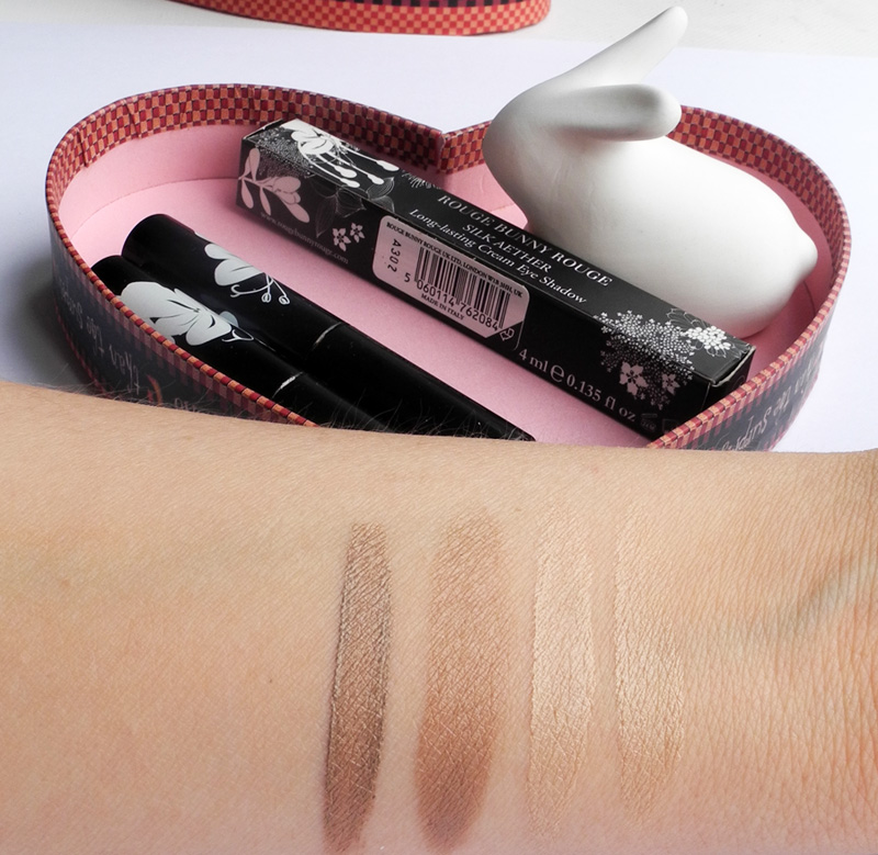 Rouge Bunny Rouge Long Lasting Cream Shadow Silk Aether in Atlas Swallowtail Review and Swatches 1