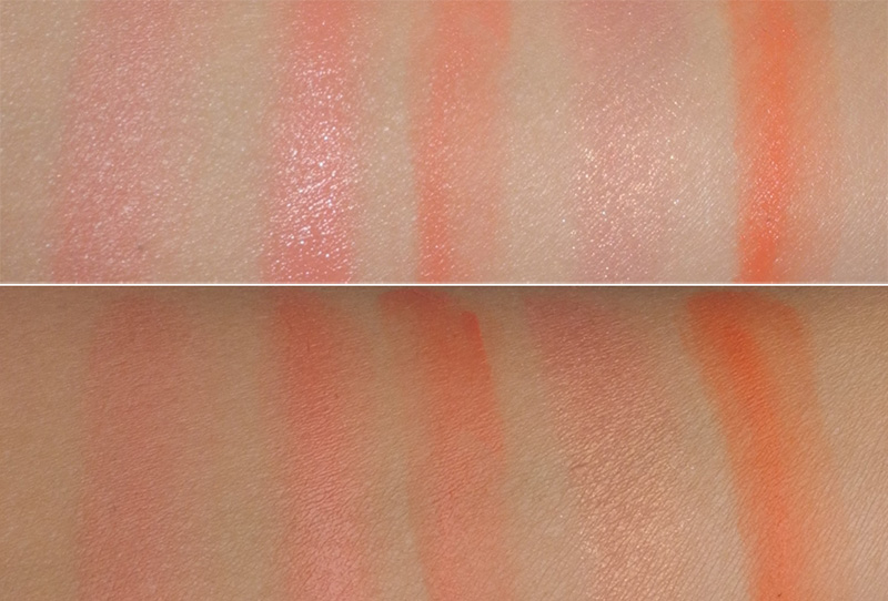 5 Coral Peach Orange Blushes for Summer YSL Illamasqua NARS BECCA  Jouer