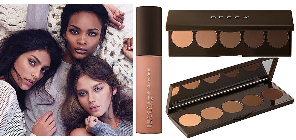 BECCA Makeup Collection for Autumn 2014 Ombre Nude Eye palette and Rose Gold